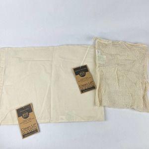 ECOBAGS Organic Reusable 2 Pack Produce Bags